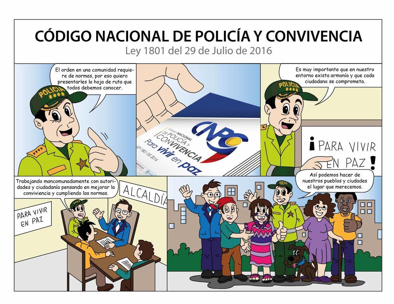 Resultado de imagen para La Policìa Aplica estrictamente el Còdigo de Policìa