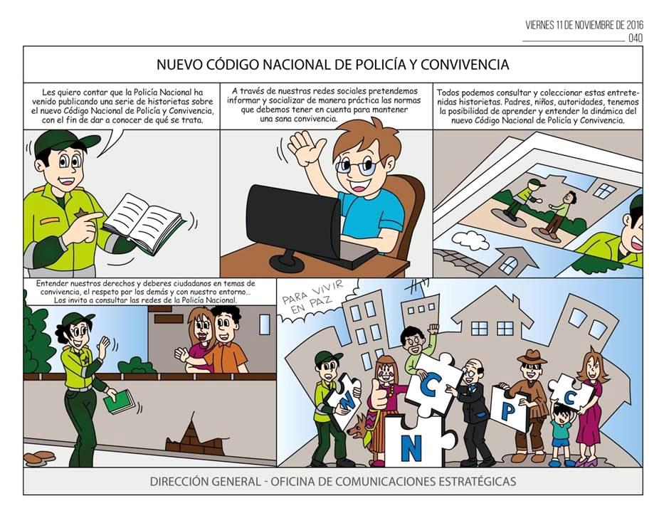 Caricaturas del nuevo c digo de polic a y convivencia for Oficina de empleo por codigo postal