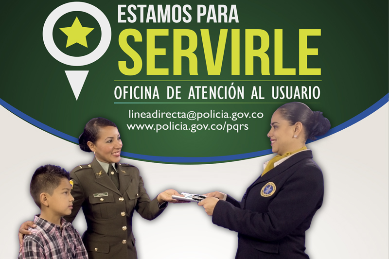 Peticiones quejas reclamos y sugerencias de sanidad for Oficina policia nacional