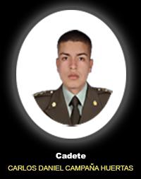 Cadete CARLOS DANIEL CAMPAÑA HUERTAS