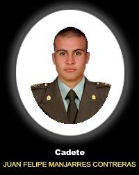 Cadete JUAN FELIPE MANJARREZ CONTRERAS