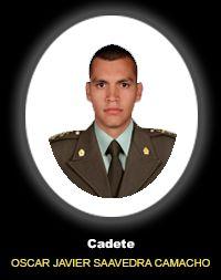Cadete OSCAR JAVIER SAAVEDRA CAMACHO