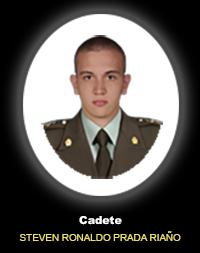 Cadete STEVEN RONALDO PRADA RIAÑO