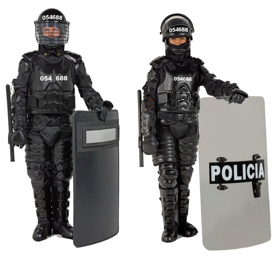 Resultat d'imatges de escudo manifestaciones policia
