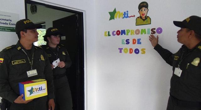 En el meta la polic a nacional apropia el mti inspirados for Oficina policia nacional