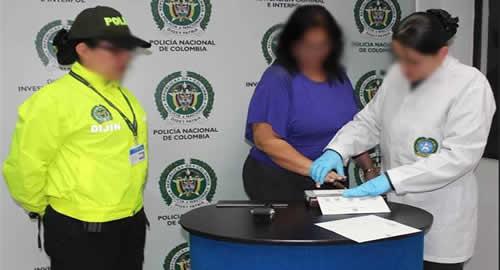 Capturada enfermera emp rica pr fuga de la justicia estadounidense polic a nacional de colombia - Oficina policia nacional ...