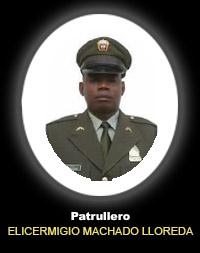 Patrullero ELICERMIGIO MACHADO LLOREDA