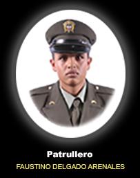 Patrullero FAUSTINO DELGADO ARENALES