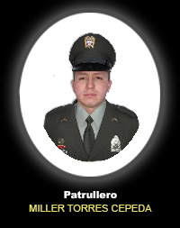 Patrullero MILLER TORRES CEPEDA