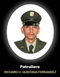 Patrullero RICHARD HUMBERTO QUINTANA FERNANDEZ