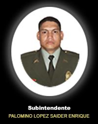 SI. PALOMINO LOPEZ SAIDER ENRIQUE