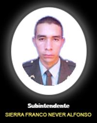 SI. SIERRA FRANCO NEVER ALFONSO