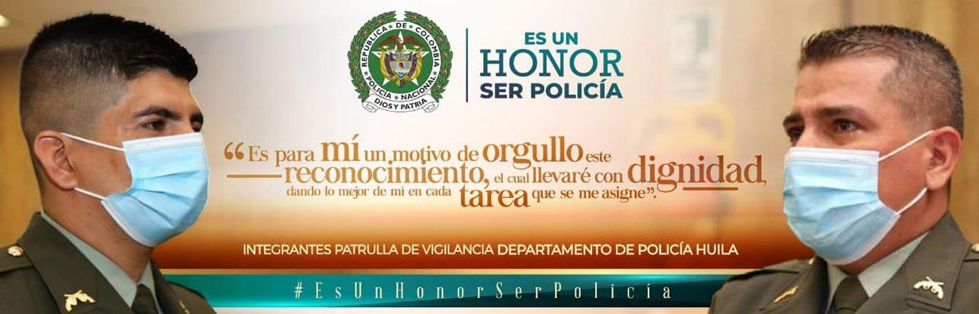 Orgullo ser policía
