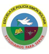 Escudo-Escuela de Policia Simón Bolívar