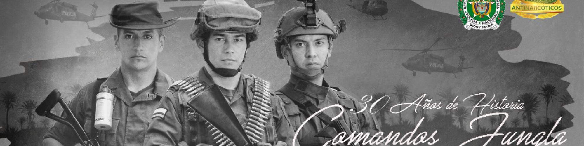 Comandos Jungla de la Policía Nacional
