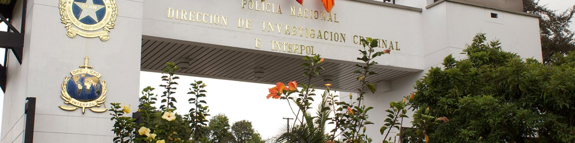 Dirección de Investigación Criminal e INTERPOL de la Policía Nacional - DIJIN