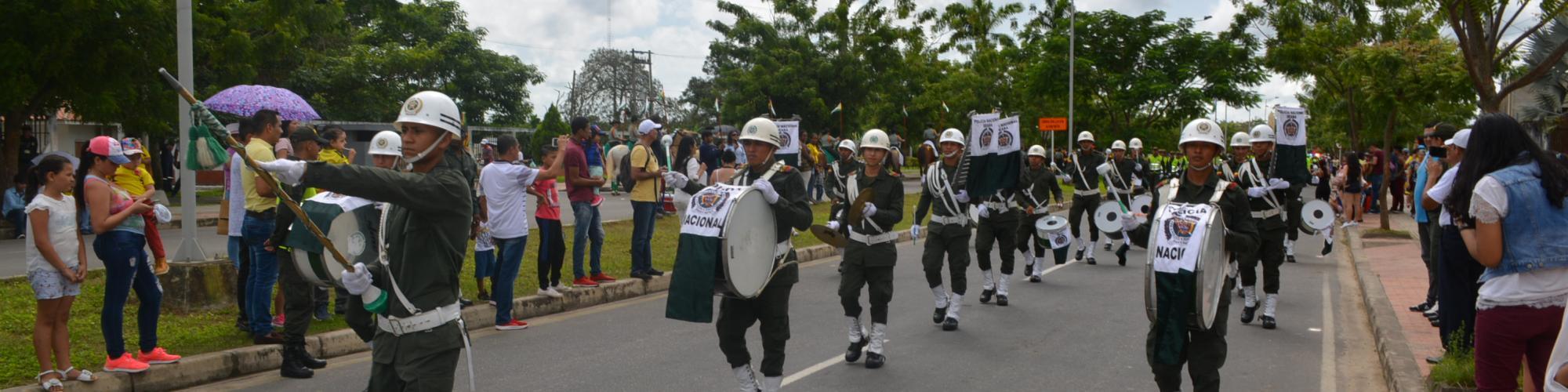 Banda de paz departamento de Policía Arauca
