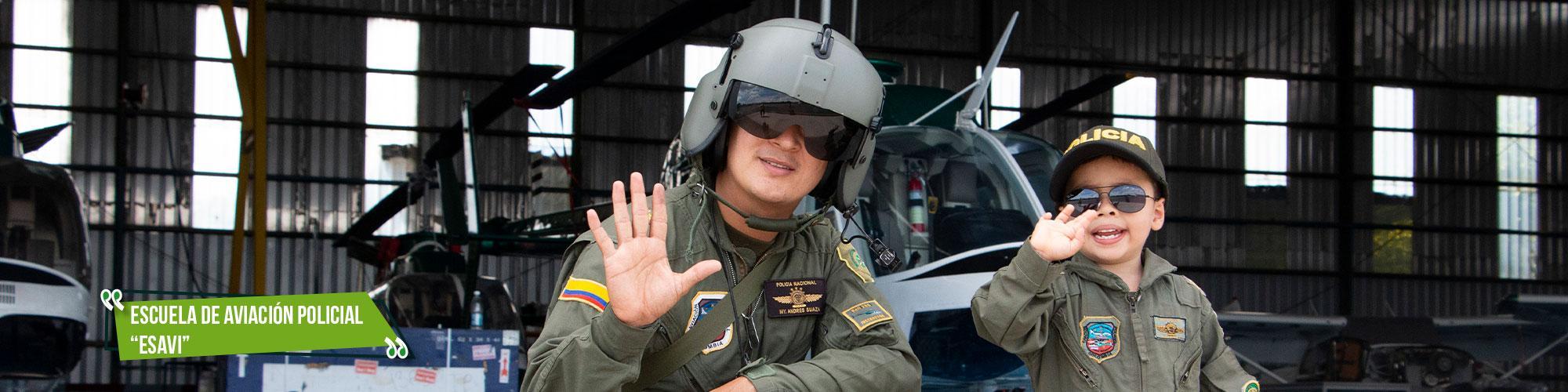 Escuela aviación policial