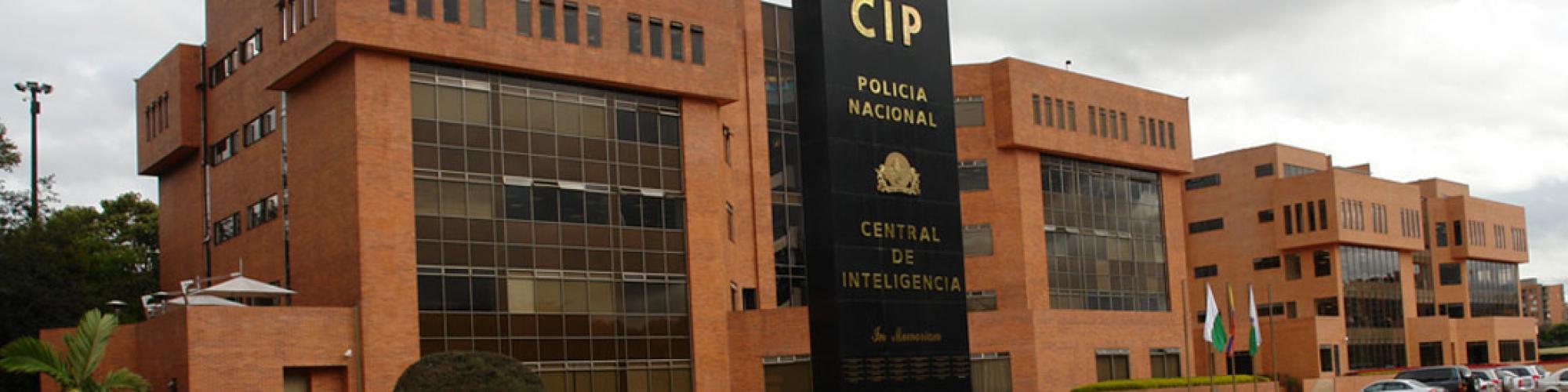 Fachada de la Dirección de Inteligencia de la Policía Nacional de Colombia