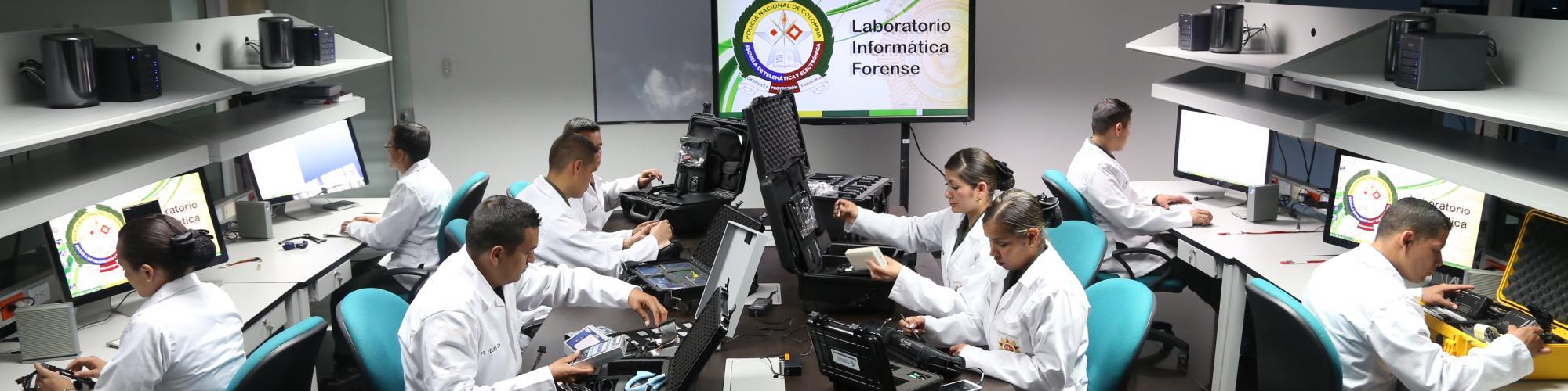 LABORATORIO DE INFORMÁTICA FORENSE