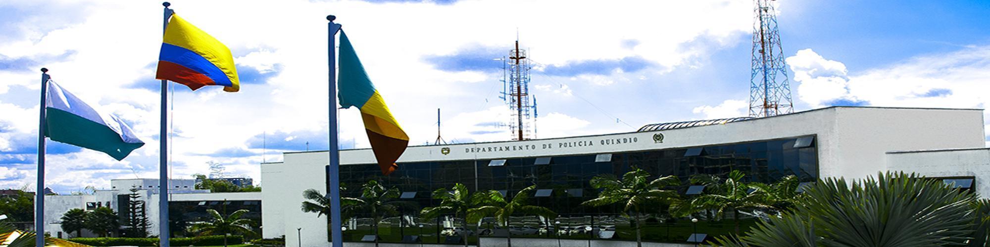 foto panoramica del Departamento de Policía Quindío