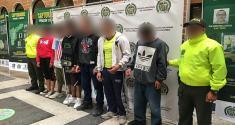 Acciones operativas contra la criminalidad en el municipio de Itagüí