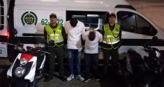 En el operativo dirigido por cámaras de seguridad cuatro sujetos fueron capturados