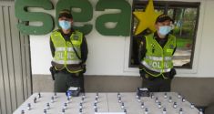 En modalidad de encomienda eran transportados 50 frascos de ketamina con destino a la ciudad de Medellín