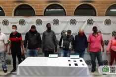 Personas capturadas por tráfico de estupefacientes en el centro de Medellín