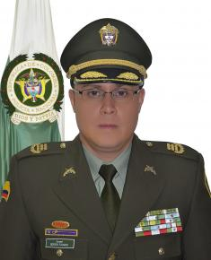 Fotografìa del Coronel Gerson Fajardo