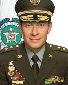 Director de sanidad Brigadier General Henry Armando Sanabria Cely