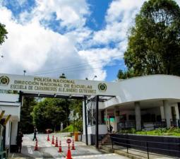 Entrada Principal Escuela de Carabineros Alejandro Gutiérrez