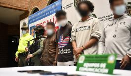 Judicializados 11 integrantes de grupo criminal del centro oriente de Medellín