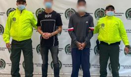 Contundentes contra el hurto, 6 capturados y 8 motos recuperadas