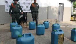 Operativos contra el tráfico de droga y munición en Medellín y La Estrella