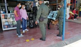 El departamento de Policía del Guainía como parte de las estrategias que viene implementando para contrarrestar los delitos que afectan la seguridad ciudadanía.