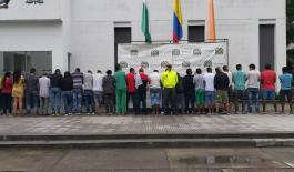 ERAN LOS ENCARGADOS DE DISTRIBUIR LOS ESTUPEFACIENTES EN PEQUEÑAS DOSIS EN EL MUNICIPIO DE APARTADÓ