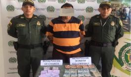 Adelantamos actividades operativas de control contra el chance ilegal