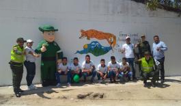 Participaron 90 estudiantes del plantel educativo San Juan Bosco