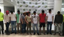 Desarticulacion Banda delincuencial la frontera.