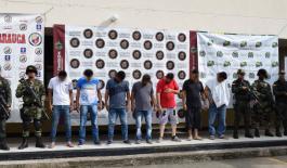 capturamos 6 personas en el departamento de Arauca