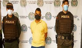 Un hombre es capturado por el delito de actos sexuales agravados