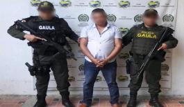 Fue interceptado por el GAULA Élite en la vía San Pelayo – Cereté