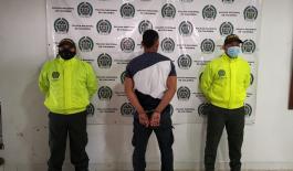 Hombre de 28 años capturado por el delito de homicidio.