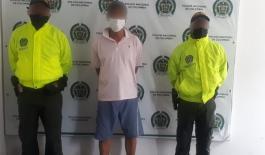 Capturado por abuso sexual con menor de 14 años