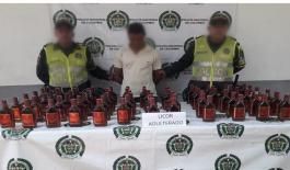 capturado-licor adulterado-zona bananera-cuadrante vial-magdalena-contrabando-construyendo seguridad
