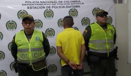 Capturados en Boyacá por el delito de homicidio