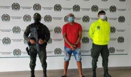 Capturado alias 'wayni' por el delito de tentativa homicidio y porte ilegal de armas de fuego