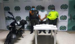 Una persona capturada por tráfico de estupefacientes en Inírida