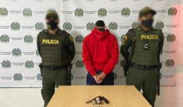 """Capturamos a"""" Juan"""" por el delito de fabricación, trafico, porte o tenencia de armas de fuego"""